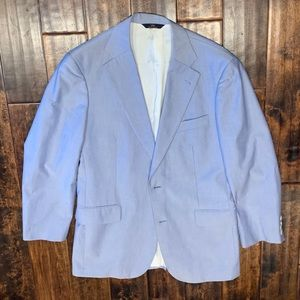 Brooks Brothers Light Blue Blazer Size 40R